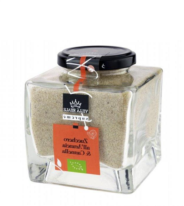 Villa Reale Supreme - Organic Sugar with Orange & Cinnamon  290g