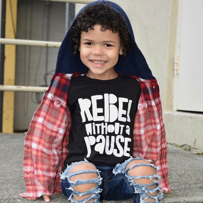 Rebel Without a Pause Tee