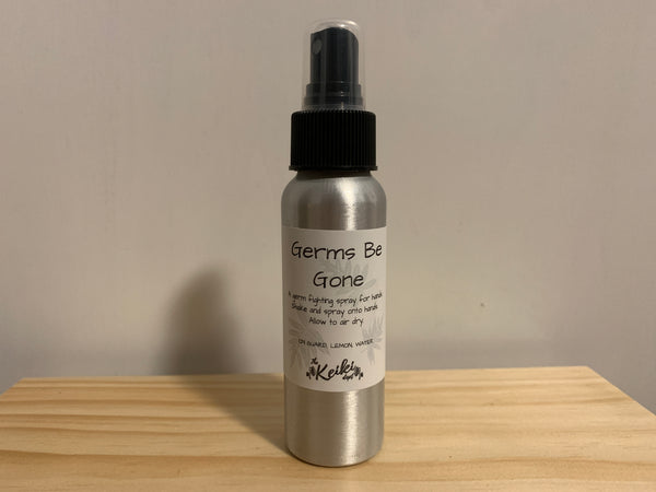 Essential Oil Germs Be Gone Spray
