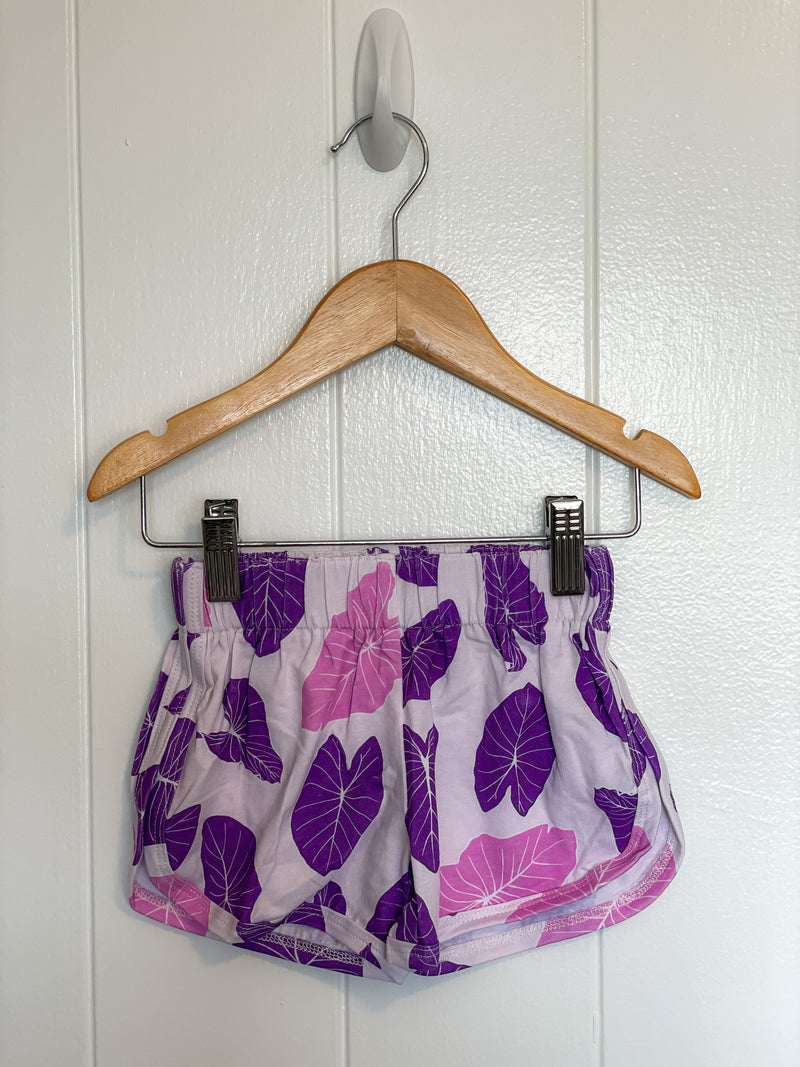 Pink & Purple Organic Kalo Girls Shorts
