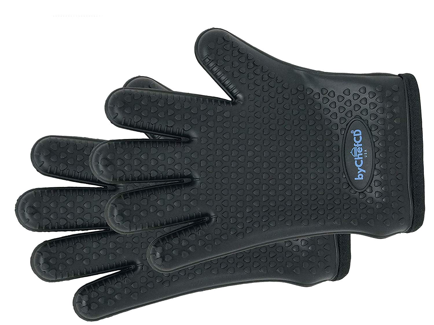 ByChefCD Silicone Grilling Gloves Black - ByChefCd Cooking products seller from Orlando, FL