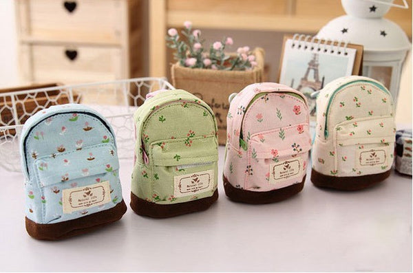♥ Mini Backpack Coin Pouch ♥