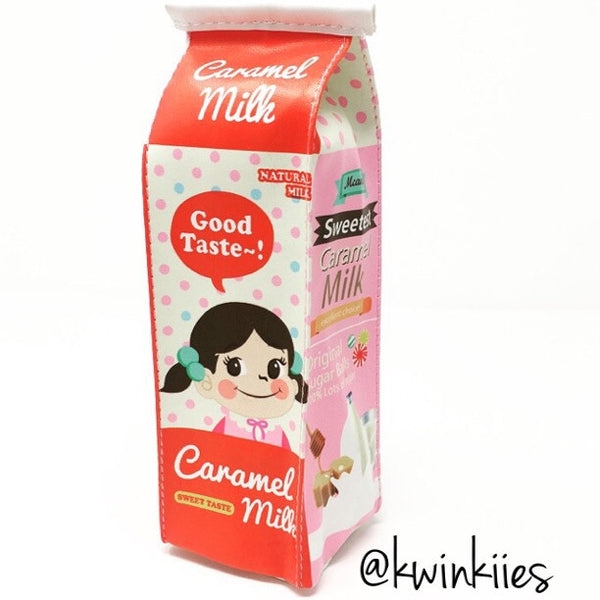 ♥ Milk Carton Pencil Pouch ♥