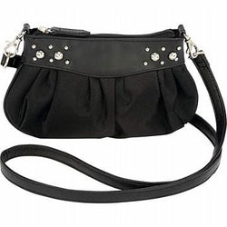 Biker Beltloop Handbag Purse in Genuine Leather