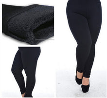 NEW Black Fleece Lined Leggings