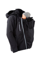 Softshell Babywearing Jacket for Dad