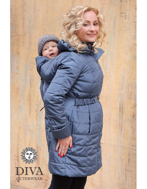 4-in-1 Babywearing Winter Coat (Medium-warm)
