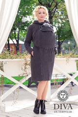 Diva Milano Wool Coat Antracite