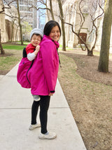 4-in-1 Babywearing Jacket