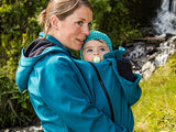 "Softshell Babywearing Jacket (Black XXL - chest 46"")"