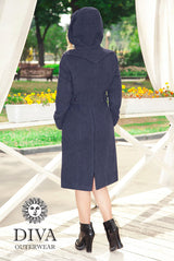 Babywearing Wool Coat