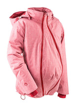 Winter Babywearing Jacket - Red Melange Medium (Demo)