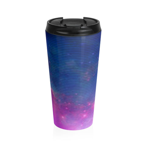 Electric Universe Sky Stainless Steel Travel Mug