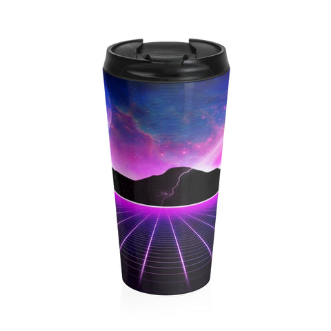 Electric Universe Stainless Steel Travel Mug