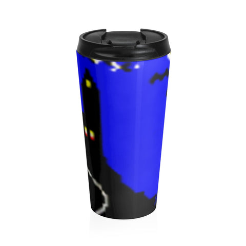Solitaire 95 2.0 Castle Stainless Steel Travel Mug