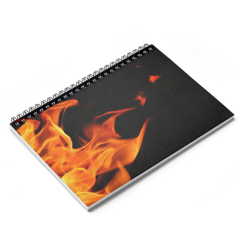 Fire Starter Spiral Notebook