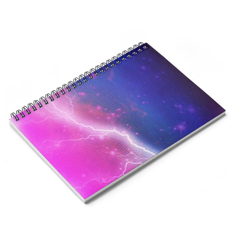 Electric Universe Sky Spiral Notebook