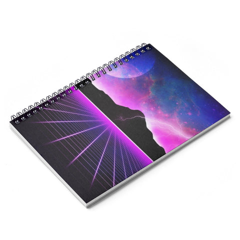 Electric Universe Spiral Notebook