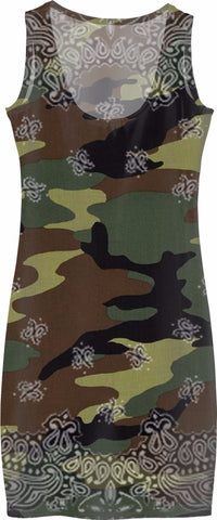 Love Is A Battlefield Camo Dress Camouflage Dresses Army Camo green