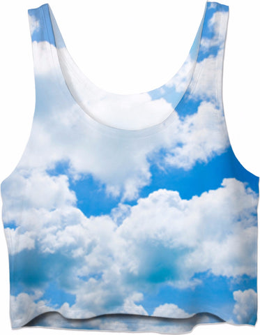 Heaven Is A Place On Earth Crop Tank