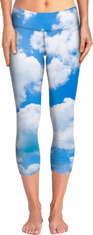 Heaven Is A Place On Earth Yoga Pants