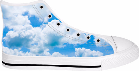 Heaven Is A Place On Earth High Top White Sneakers