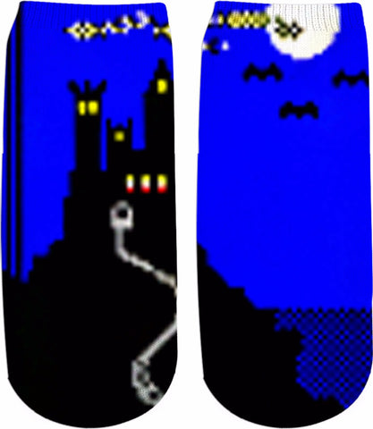 Solitaire 95 2.0 Castle Ankle Socks