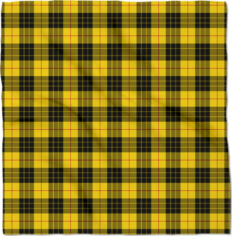 Smells Like Teen Spirit Yellow Plaid Bandana