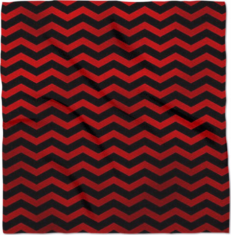 Black Lodge Chevron Bandana