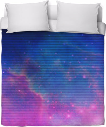 Electric Universe Sky Duvet Cover