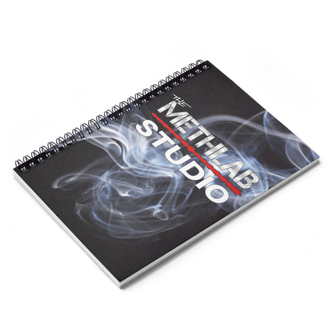 Meth Lab Studio Smoke Spiral Notebook