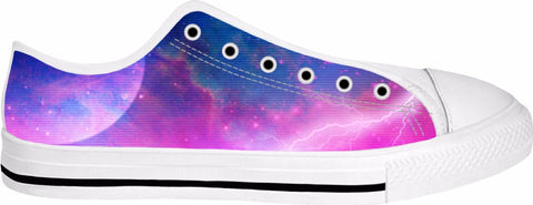 Electric Universe Sky Low Top Sneakers