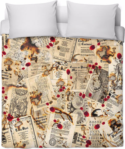 Spellbound Duvet Cover