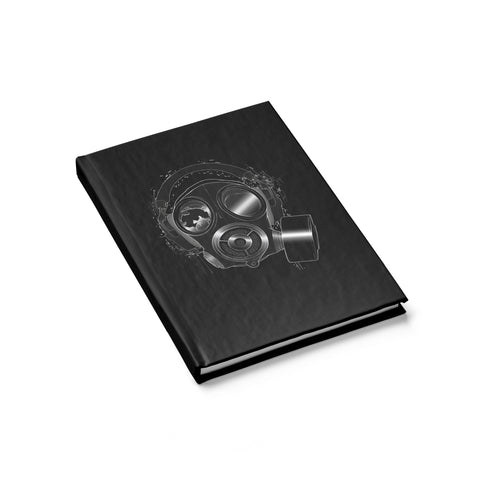 Meth Lab Studio Gas Mask Notebook