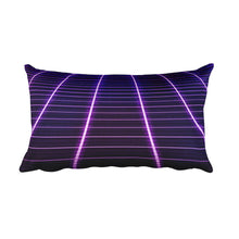 Electric Universe Grid Rectangular Pillow