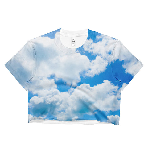 Heaven Is A Place On Earth Crop Top