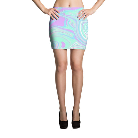 Groove is in the Heart Mini Skirt