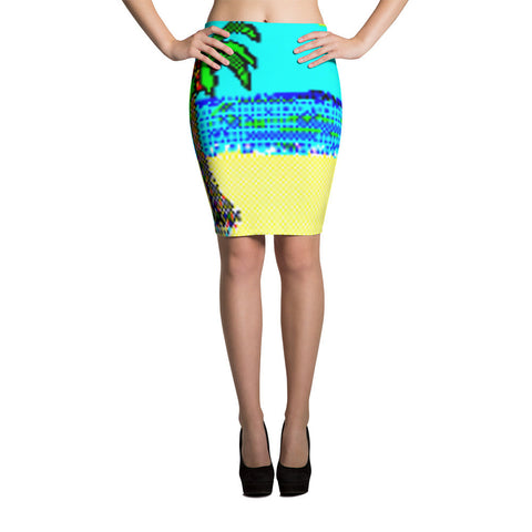 Solitaire 95 1.0 Palm Pencil Skirt
