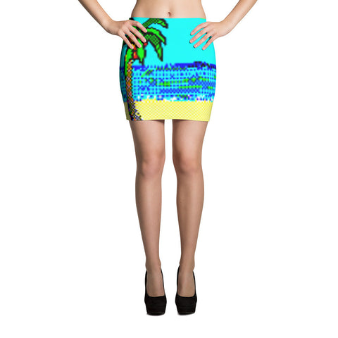 Solitaire 95 1.0 Palm Mini Skirt