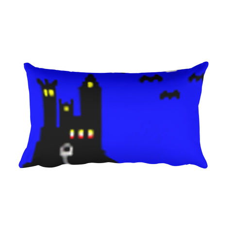 Solitaire 95 2.0 Castle Rectangular Pillow