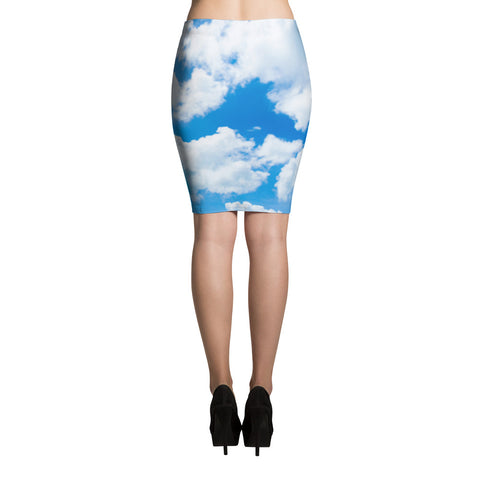 Heaven Is A Place On Earth Pencil Skirt