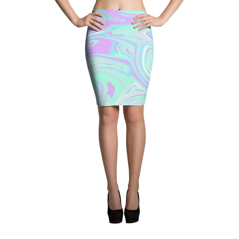 Groove is in the Heart Pencil Skirt
