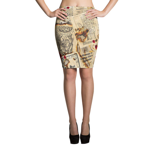 Spellbound Pencil Skirt
