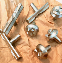 NIKA series cast bronze knob, various finishes.