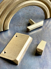 "PYRA series, 3"" edge pull, various finishes."