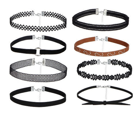 8 Piece Choker Set -  17KM