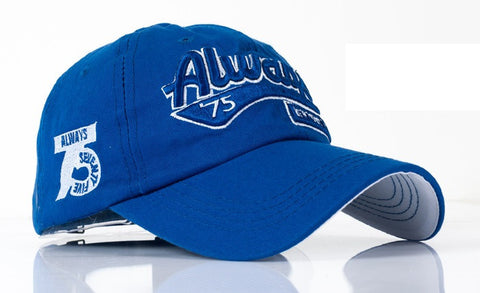 Solid Color Baseball Cap - Always75