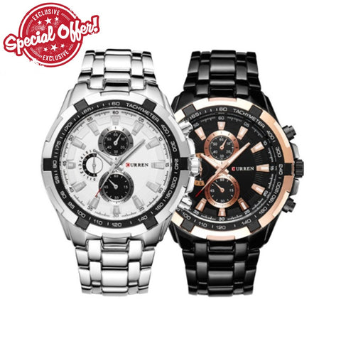 Curren Stainless Steel Quartz Watch