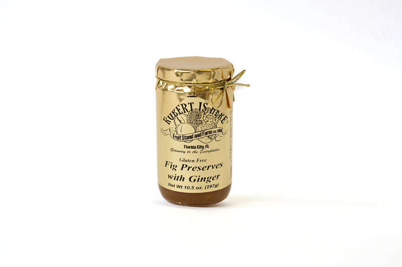 Fig Preserves with Ginger