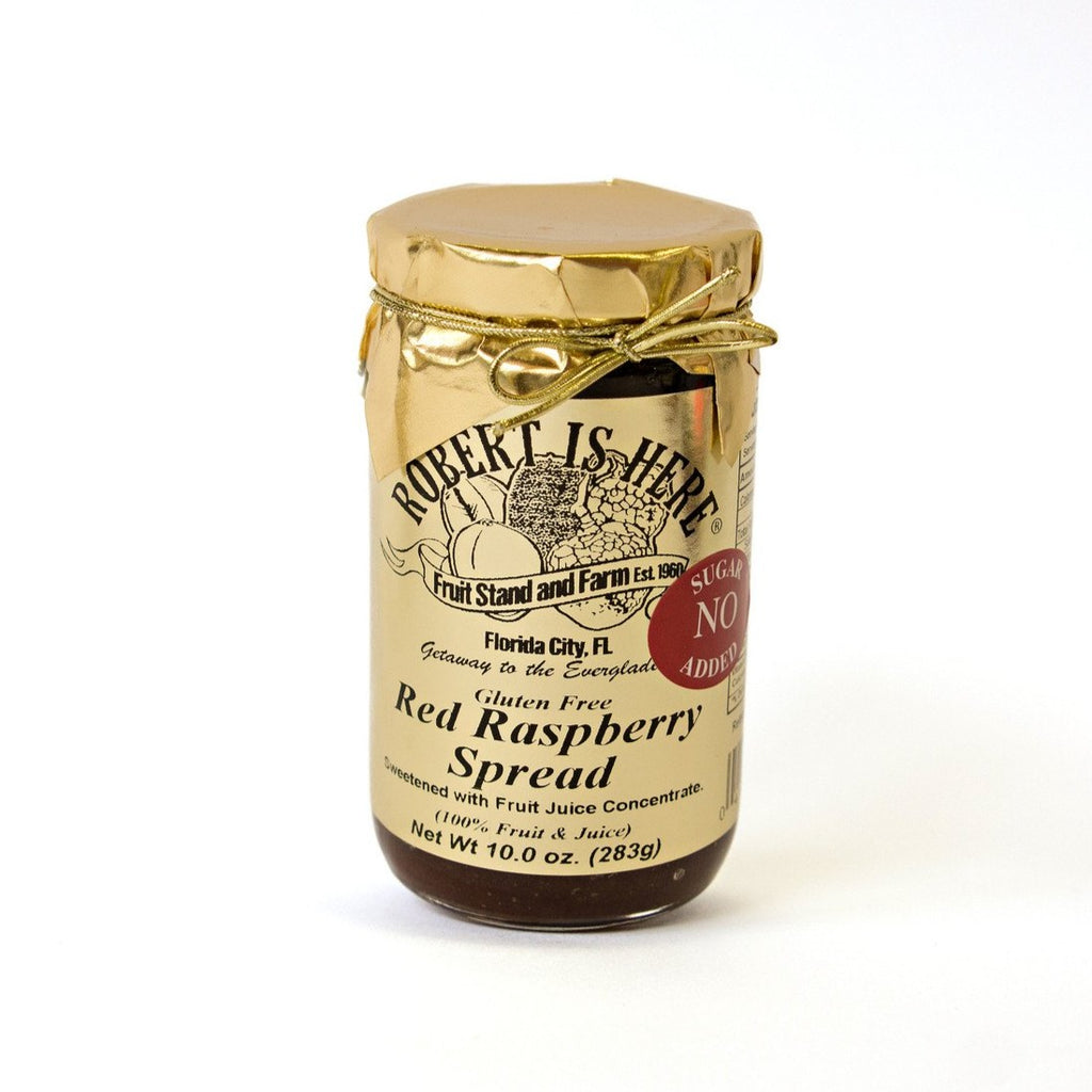No Sugar Added Red Raspberry Spread